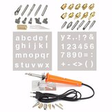 37pcs Wood Burning Pen with Extra Tips and Stencils Deluxe Craft and Hobby Kit