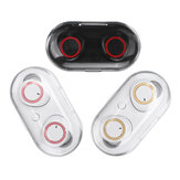 Fone de ouvido bluetooth TWS Indicadores de energia de emparelhamento automático Fones de ouvido esportivos Fone de ouvido à prova d'água sem fio com carregamento Caso