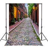5x7FT Vinyl Retro Rock Street Photography Backdrop Background Studio Prop