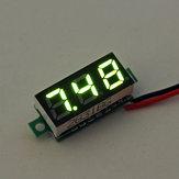 10 Pz Geekcreit® Green 0.28 Pollici 2.6 V-30 V Mini Digital Volt Voltmetro Voltmetro Voltmetro