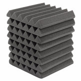 8Pcs 305x305x45mm Soundproofing Sound-Absorbing Noise Foam Tiles