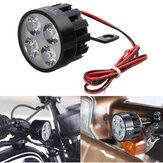 12V-80V DC 12W LED Light motocykl skuter rowerowa lampa lusterka wstecznego
