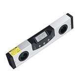 LCD Display Digital Laser Level Ruler Cross Line Magnetic Protractor Inclinometer Electronic Angle Level