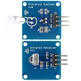 Mini 38KHz IR Infrared Transmitter Module + IR Infrared Receiver Sensor Module RPI STM32