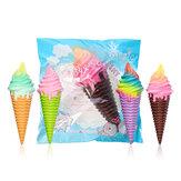 Squishy Ice Cream 30 * 10 * 9.5cm Jumbo dekoration med pakke gave samling langsomt stigende jumbo legetøj