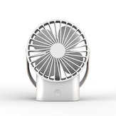 LyRay UB-05 USB Rechargeable Portable Mini Copper Mute Fan Desktop Office Fan with 2500mAh Capacity Battery