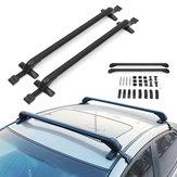 Junta de borracha do portador de bagagem das barras transversais de alumínio da grade de tejadilho do carro para sedans SUV do carro 4DR