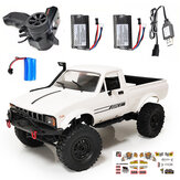 WPL C24 1/16 2,4 G 4WD Crawler RTR Truck RC Car Full Proportional Control To / Three Batteri