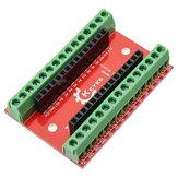 10 stks NANO IO Shield-uitbreidingskaart Geekcreit voor Arduino - producten die werken met officiële Arduino-boards