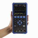 OWON® HDS200 Series 2CH Handheld Osciloscópio 40/70 MHz Largura de banda 20000 Contagens Multiumeter OSC + DMM + Waveform Generator 3 em 1 adequado para manutenção de automóveis e detecção de energia