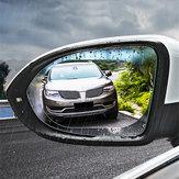 Cafele rétroviseur de voiture film protecteur anti-pluie anti-brouillard anti-reflets fenêtre clair protecteur 2 Pcs