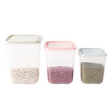 3Pcs Pink /Green /Blue Food Grains Crisper Box Kitchen Sealed Storage Container