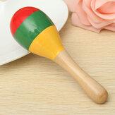شعبية الاطفال الطفل الصوت موسيقى طفل راتل موسيقىal خشبي Colorful لعب هدايا
