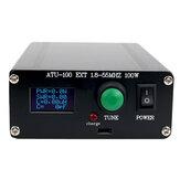 موالف ATU100 Automatic هوائي الجديد 100 واط 1.8-55 ميجا هرتز / 1.8-30 ميجا هرتز مع البطارية من الداخل مجمعة لمحطات راديو الموجات القصيرة 5-100 واط