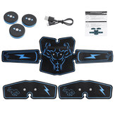 6 modalità Ultimate Muscle Training Gear ABS Stimulator Trainer Body EMS Exercise Massager