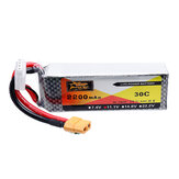 ZOP Power 11.1V 2200mAh 30C 3S Lipo Batterie XT60 Stecker
