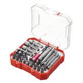 34 pezzi cacciavite Set di punte con intaglio Phillips esagonale Torx cacciavite Bit Porta punte dado
