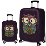 Honana Owl Elastic Equipaje Cover Trolley Caso Cover Durable Maleta Protector para 18-32 Inch Caso Warm Travel Accessories
