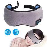 Wireless Bluetooth 5.0 Auricolari Eye Maschera Cuffie da viaggio per musica stereo Cuffie da viaggio con altoparlanti integrati Mic
