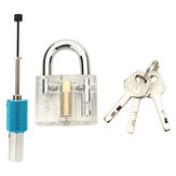 DANIU Disco Tipo Cadeado transparente com disco Detainer Locksmith Tools Locksmith Training Skill Set