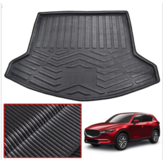 Car Trunk Rear Floor Mat Pad Waterproof Cargo Liner Tray Carpet Mud Kick Protector For Mazda CX5 CX-5 MK2 2017 2018