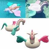 Giocattolo gonfiabile gigante del partito del letto ad acqua della piscina della piscina gonfiabile di Pegasus dell'unicorno