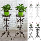 Metall Pflanze Display Stand Blumentopf Halter Regal Garten Patio Indoor Outdoor