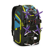 Torvol XBlades PITSTOP Backpack Pro with Smart Zipper & Multiple Organizer Pockets for RC Drone FPV Racing
