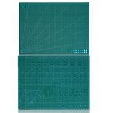 Tapete de corte de dois lados A2 PVC Craft Scrapbooking Board Patchwork Paper Craft Ferramentas de corte para engenheiro