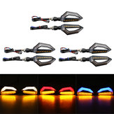 12V Motorcycle LED Turn Signal Indicator Lights For Kawasaki/Yamaha/BMW/Honda/KTM