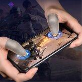 Bakeey Gaming rękaw na palec oddychające opuszki palców ekran dotykowy osłona na łóżeczko czułe na grę na telefon komórkowy PUBG
