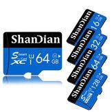 ذاكرة شاندان بطاقة 8/16/32/64/128 جيجابايت فئة 10 عالية السرعة TF / ذاكرة SD بطاقة آيفون 12 لـ Samsung جالاكسي S21 هاتف ذكي لوحي تبديل مكبر صوت سيارة بدون طيا
