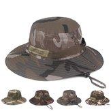 Unisex Kamuflaj Kovası Şapka