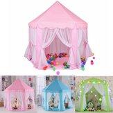 140x135 cm Çocuklar Oyun Çadırı Playhouse Prenses Kalesi Bebek Çocuk Evi Outdoor Oyuncaklar Kız Için