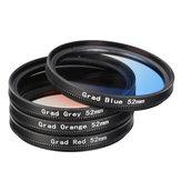 DSLRカメラのための4つの部分52ミリメートルカラーレンズフィルター