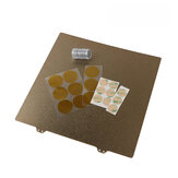 310x310mm Heated Bed Platform Print Panel Steel Plate with 9 Pcs Magnetic Sticker for CR-10/10S 3D Printer