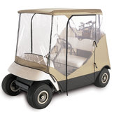 210D Oxford Cloth+PVC Classic Golf Cart Cover Rain 2 Passenger For Club Car Accessories