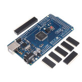 Mega 2560 R3 ATmega2560-16AU Development Board Without USB Cable Geekcreit for Arduino - products that work with official Arduino boards