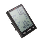Bogeer YT-318 2.7-inch Large Screen Wireless Bike Computer Waterproof Temperature Backlight Speedometer