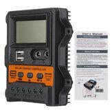 12V / 24V 10A/20A/30A Painel solar Bateria Regulador de carga automática Controlador