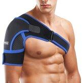 Neoprene Adjustable Shoulder Support Brace Upper Arm Belt Wrap Sports Care Single Shoulder Guard Strap