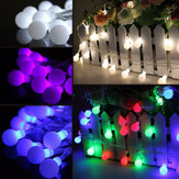 10M 100 LED Fairy String Light Berry Ball Lamp Bruiloft Kerstboom Feest Decor