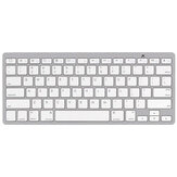 Wireless bluetooth Keyboard Rechargeable Ultra-Thin Home Office Keyboard For iPad Apple Mac Computer iOS Windows Android Tablet