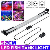 52CM 48LED Aquarium Fish Tank Light High-bright Double Drenagem Water Grass Lamp