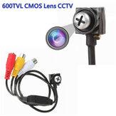 Mini Hidden HD 600TVL CMOS-Objektiv CCTV weiß Schraube verdeckt Home Security Kamera