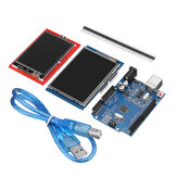 Geekcreit® UNO R3 Improved Version + 2.8TFT LCD Touch Screen + 2.4TFT Touch Screen Display Module Kit Geekcreit for Arduino - products that work with official Arduino boards