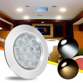 DC12V 3W 12 LED Spot Cabinet ضوء Interior Lamp for Transporter Van Boat Car RV