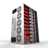 DIYマイニングフレームリグケースマイナーマイニングマシンフレーム12 GPUのマイニング暗号化通貨のリグマイナー