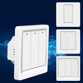 Bakeey 86 Type 1/2/3 Way WiFi Smart Switch Voice Control Smart Push Button Switch Work With Smart Life Tuya APP Alexa Google Home