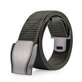 Mens 118CM Fibbia Automatica Nylon Cintura Sport Esercito Tattico Pantaloni Strap